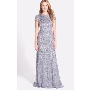 Adrianna Papell Sequins Dress